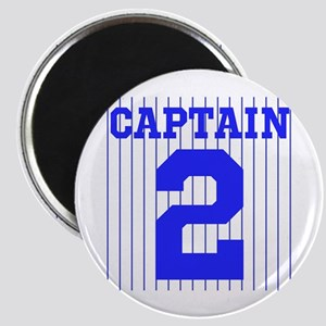 CAPTAIN #2 PINSTRIPES JETER Magnet