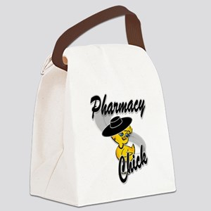 Pharmacy Chick #4 Canvas Lunch Bag