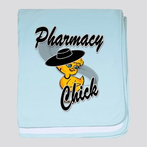 Pharmacy Chick #4 baby blanket