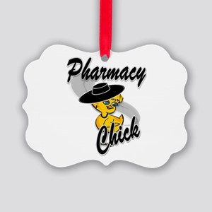Pharmacy Chick #4 Picture Ornament