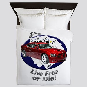 Dodge Charger SRT8 Queen Duvet