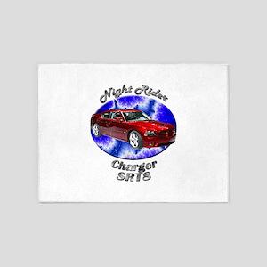 Dodge Charger SRT8 5`x7`Area Rug