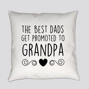 Promoted to Grandpa Everyday Pillow