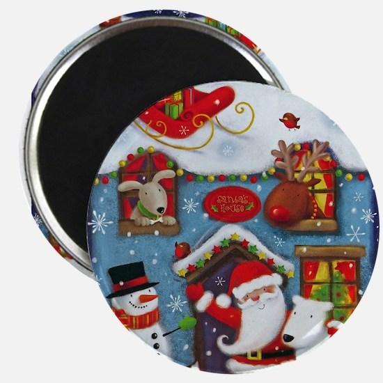 Santa's House Magnets