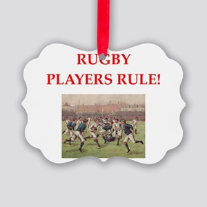 rugby joke Ornament