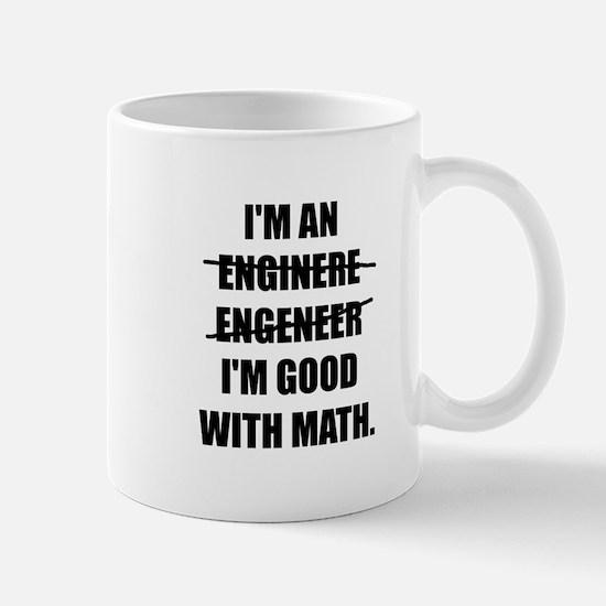 Engineer Good With Math Mugs