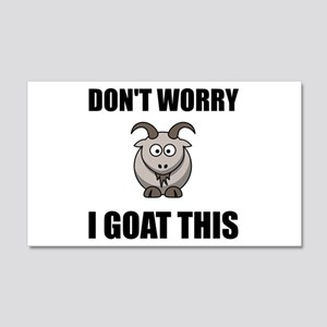 I Goat This Wall Decal