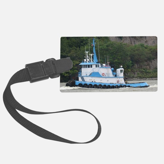 Tug Capt. Willie Landers Luggage Tag