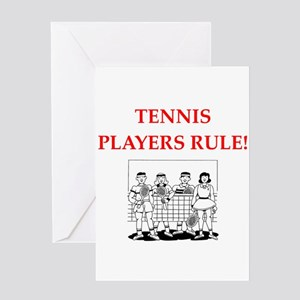 Funny tennis greeting cards cafepress tennis greeting cards m4hsunfo Choice Image