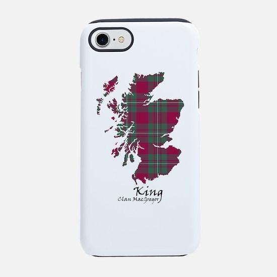Map-King.MacGregor iPhone 8/7 Tough Case