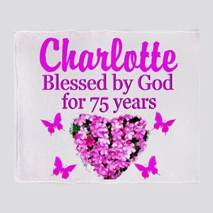 CHRISTIAN 75TH Throw Blanket
