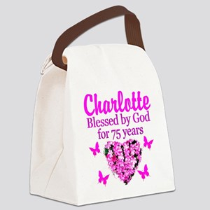 CHRISTIAN 75TH Canvas Lunch Bag