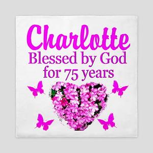 CHRISTIAN 75TH Queen Duvet