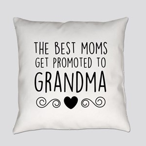 Promoted to Grandma Everyday Pillow