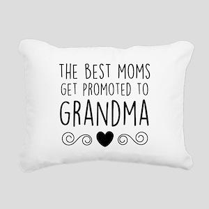 Promoted to Grandma Rectangular Canvas Pillow