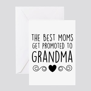 New grandma greeting cards cafepress promoted to grandma greeting cards m4hsunfo Choice Image