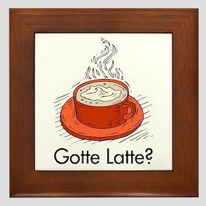 Gotte Lotte? Framed Tile