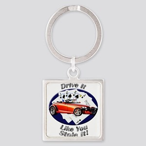 Plymouth Prowler Square Keychain
