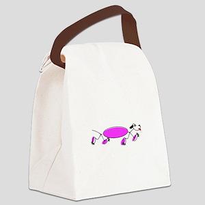 RUNNING DOG Canvas Lunch Bag