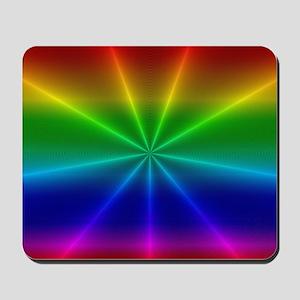 Gradient Rainbow Design Mousepad