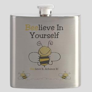 Beelieve In Yourself Flask