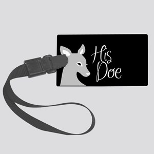 his doe Large Luggage Tag