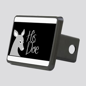 his doe Rectangular Hitch Cover