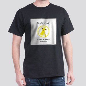 Yellow Giraffe Animal Power Gifts T-Shirt