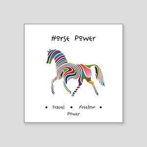 Rainbow Horse Animal Power Gifts Sticker