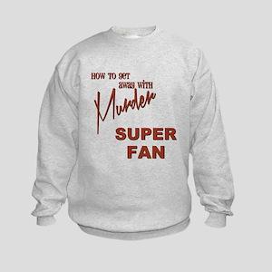 SUPER FAN Kids Sweatshirt