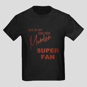 SUPER FAN Kids Dark T-Shirt