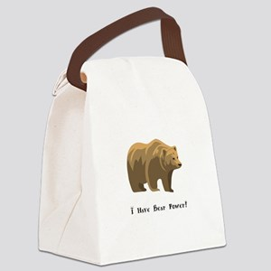 I Have Bear Power Gifts Canvas Lunch Bag