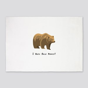 I Have Bear Power Gifts 5'x7'Area Rug