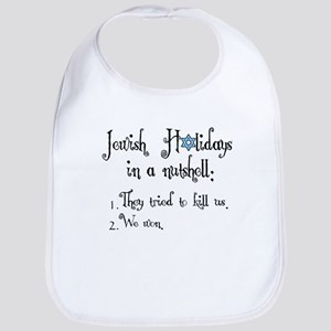 3-jewish-holidays Baby Bib