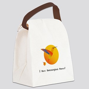 I Have Hummingbird Power Gifts Canvas Lunch Bag