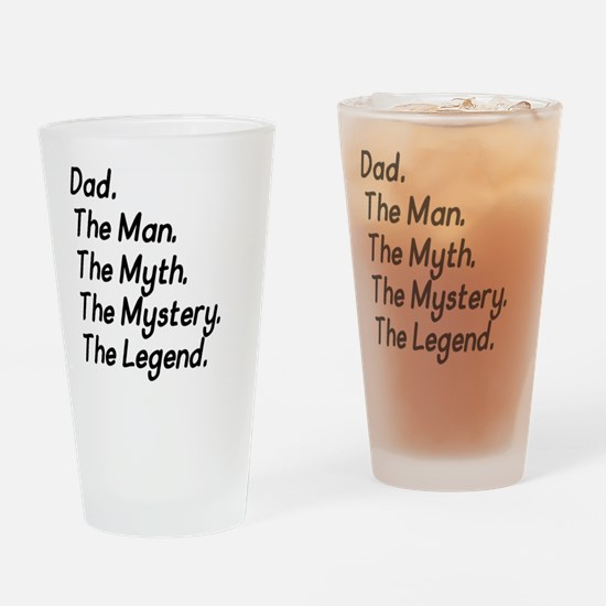 Dad M4 Drinking Glass
