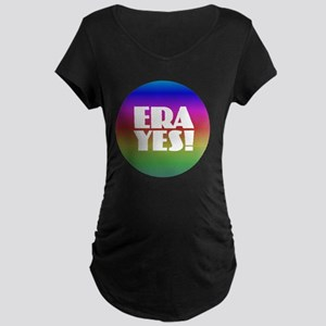 ERA YES - Rainbow Maternity T-Shirt