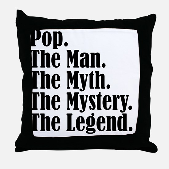 Pop M4 Throw Pillow
