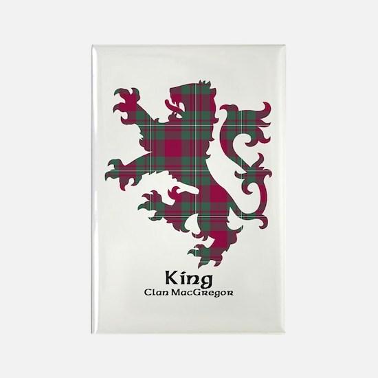 Lion-King.MacGregor Rectangle Magnet