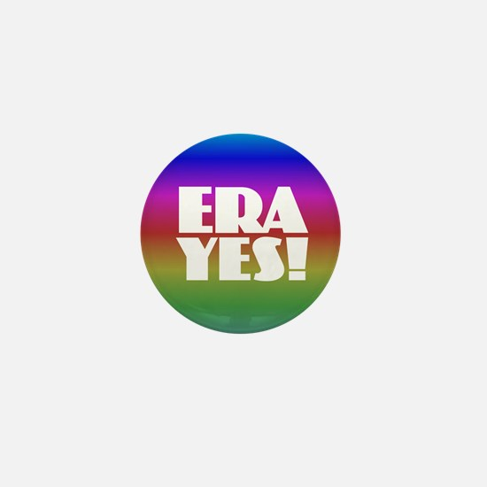 ERA YES - Rainbow Mini Button
