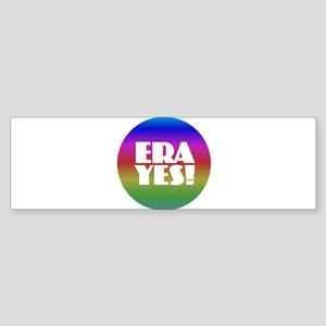 ERA YES - Rainbow Bumper Sticker