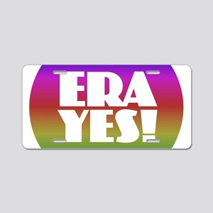 ERA YES - Rainbow Aluminum License Plate
