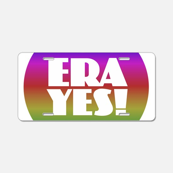 ERA YES - Rainbow Aluminum License Plate