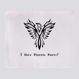 I Have Phoenix Power Gifts Throw Blanket