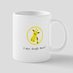Yellow Giraffe Power Animal Gifts Mugs