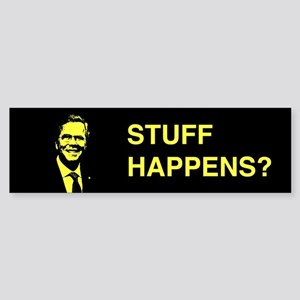 Jeb Bush: Stuff Happens? Bumper Sticker