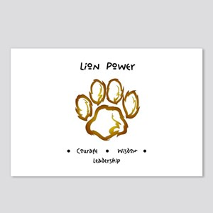 Lion Animal Totem Power Gifts Postcards (Package o