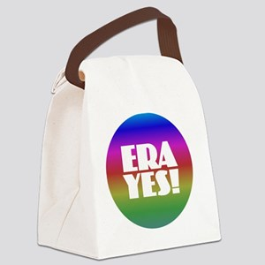 ERA YES - Rainbow Canvas Lunch Bag