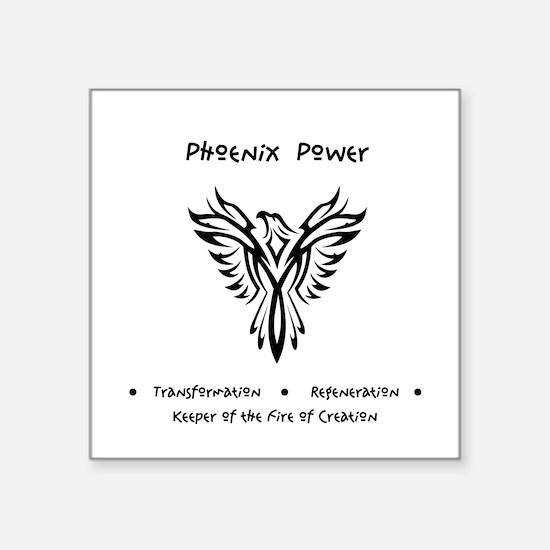 Phoenix Totem Power Gifts Sticker