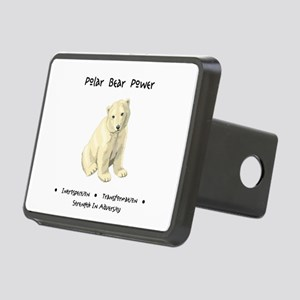 Polar Bear Animal Medicine Gifts Hitch Cover